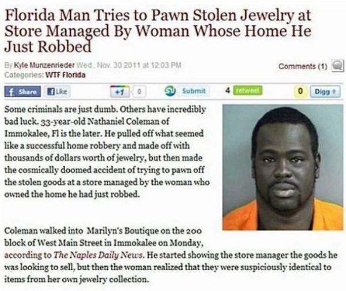 Florida Is A Very Weird Place