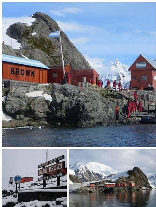 Abandoned Antarctic Stations