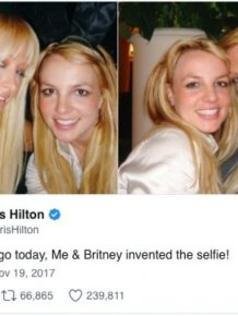 Paris Hilton Says She Invented The Selfie But Internet Proves Her Wrong