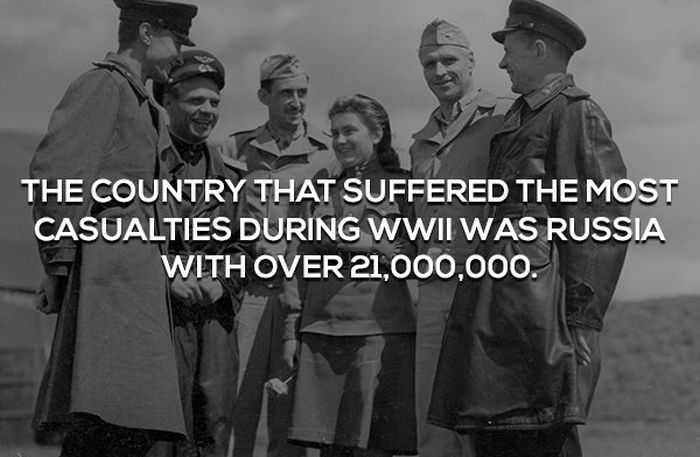 Interesting Facts About WWII