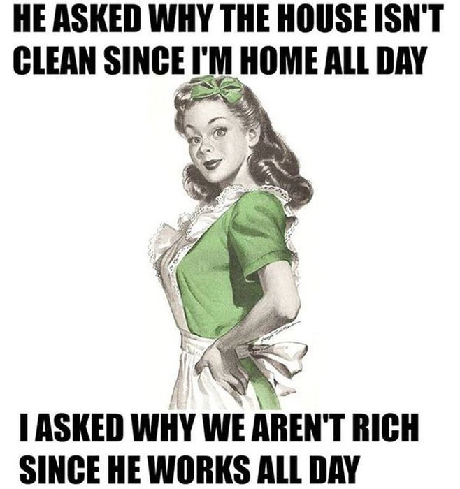 Funny 1950s Sarcastic Housewife Memes