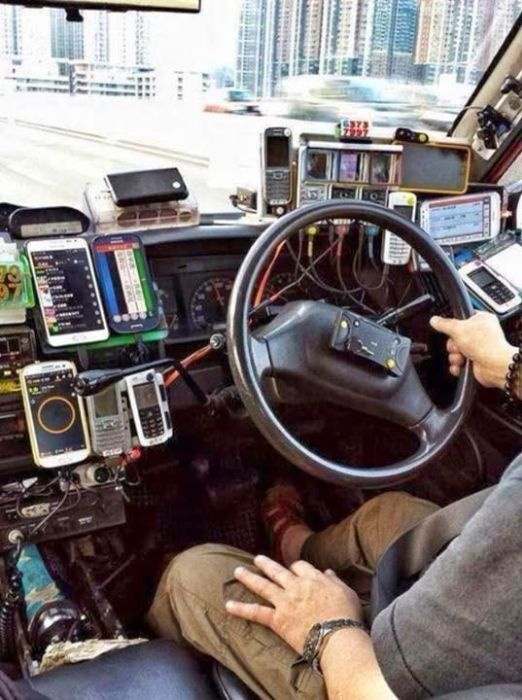 Taxi Drivers in Hong Kong