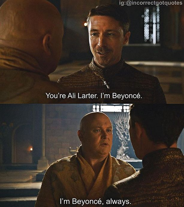Funny Incorrect 'Game of Thrones' Quotes