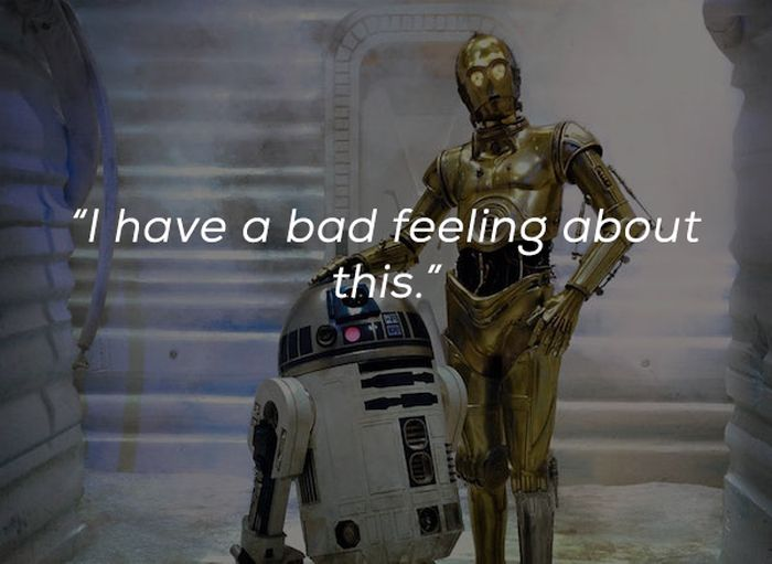 Common Movie Quotes That You'll Probably Never Utter In Real Life