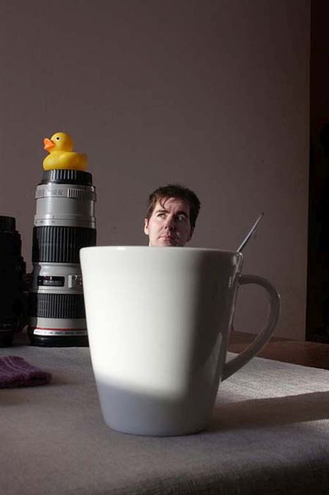 Forced Perspective Photographs