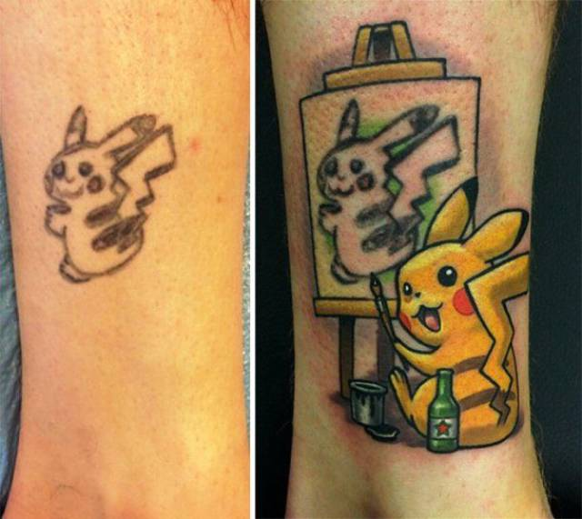 Good Cover Ups For Bad Tattoos