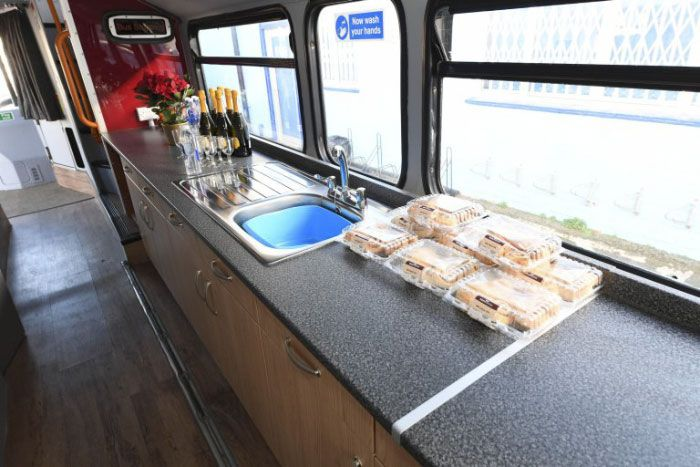 Double-Decker Bus Transformed Into Shelter For Homeless