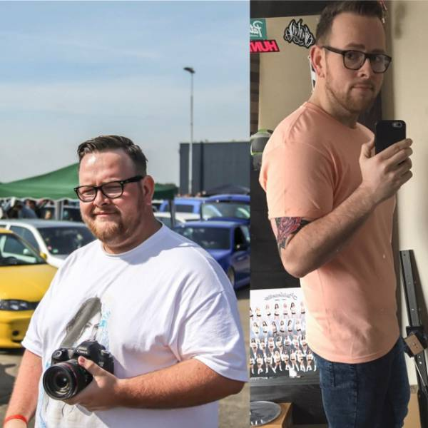 Fat People Before And After They Lost Weight