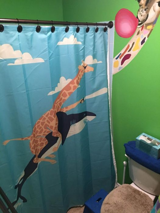 Creative Shower Curtains, part 2