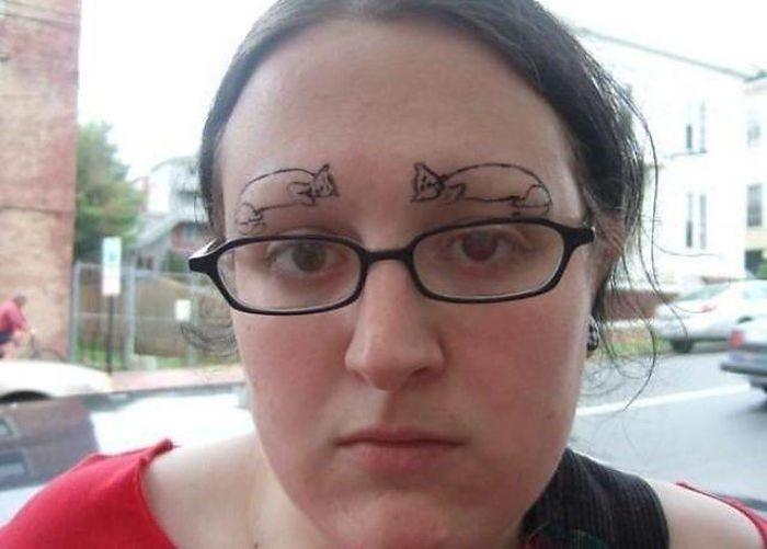 Awkward Eyebrows
