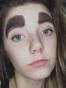 Awkward Eyebrows