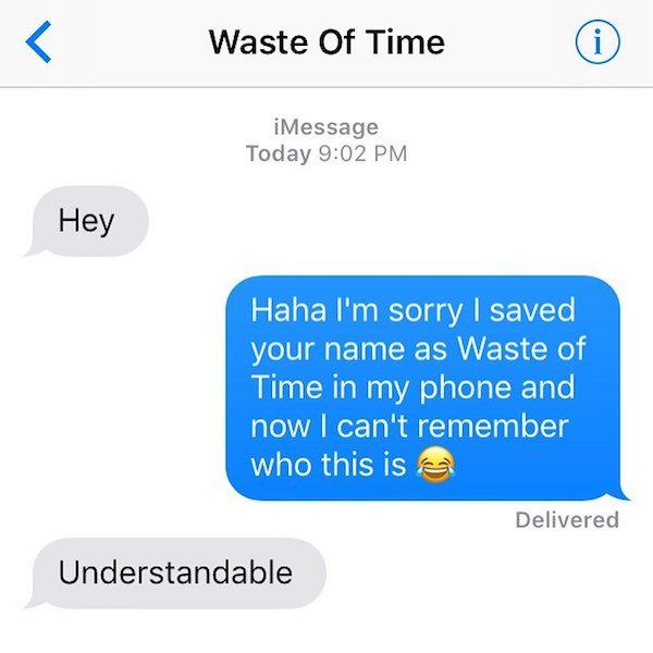 If You Text Your Ex
