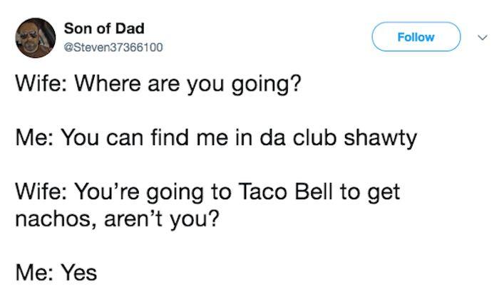 Married Life In Tweets