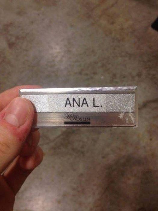 Awkward Names