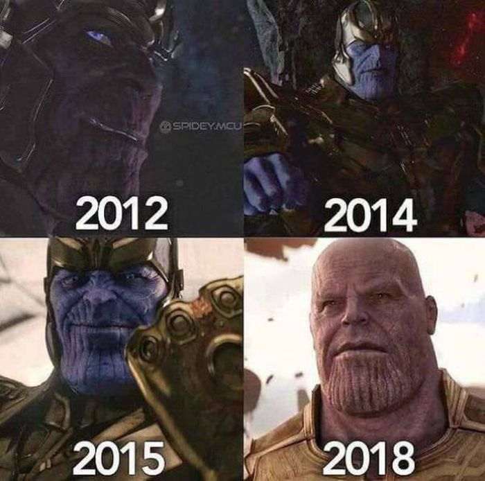 Marvel's Thanos Is Getting Famous On The Internet