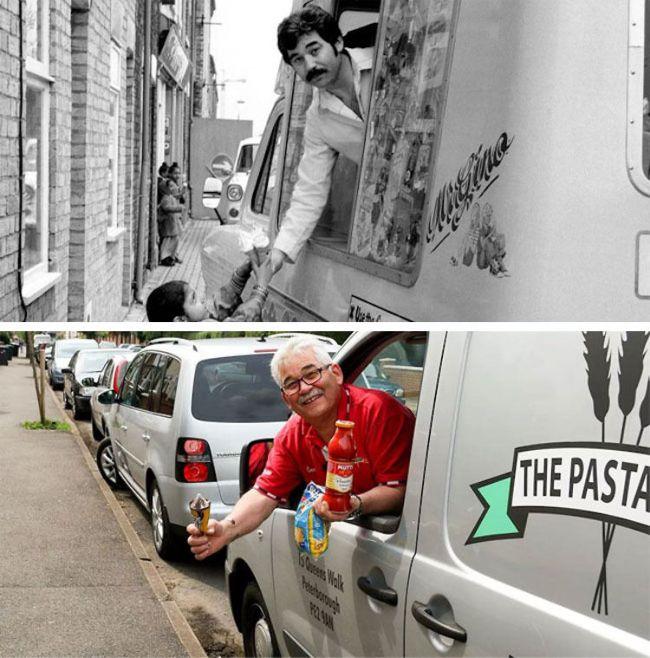 Photographer Recreates Photos He Took 40 Years Ago