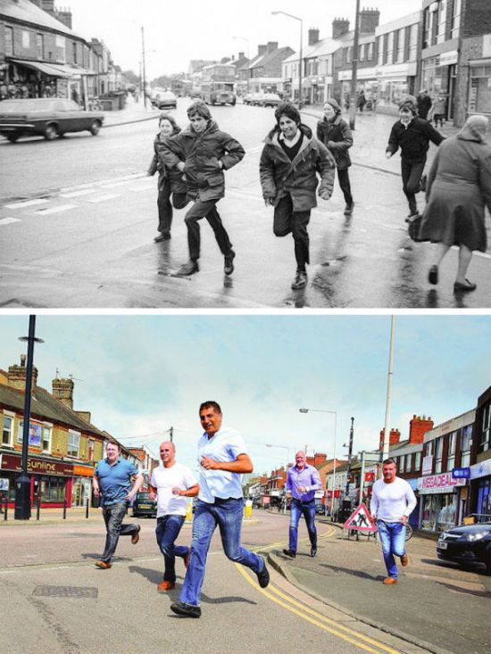 Photographer Recreates Photos He Took 40 Years Ago