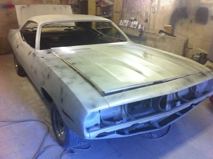 Plymouth Barracuda 1970 Before And After Photos
