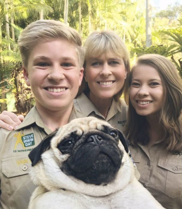 Steve's Son Irwin Followed In The Footsteps Of His Father