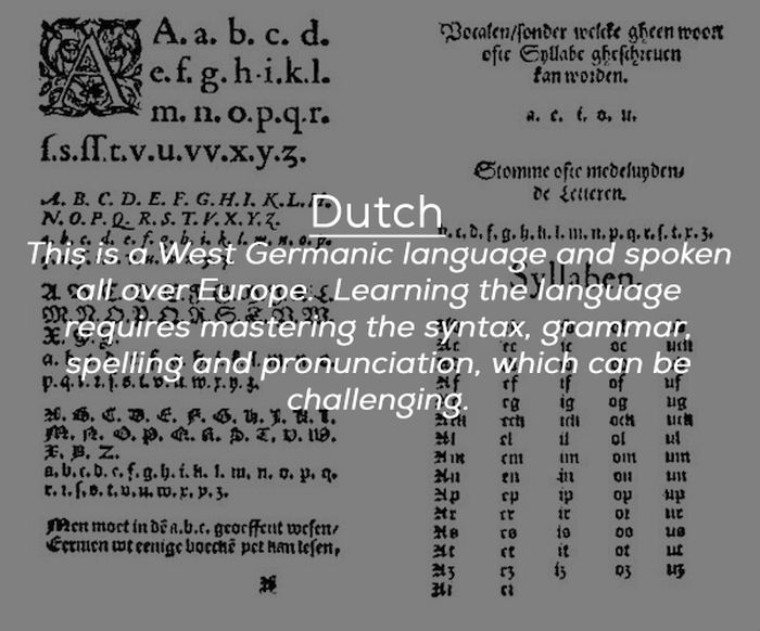 The Most Difficult Languages To Learn