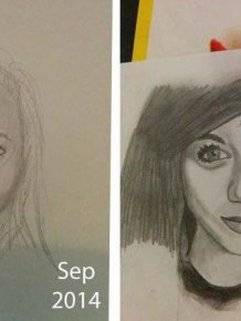 An Artist Shares His Incredible Progress