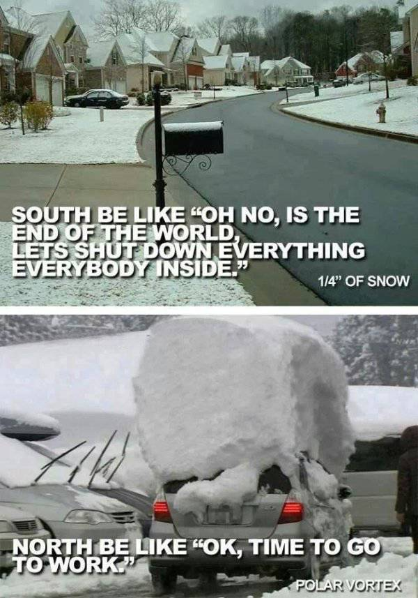 US South Was Totally Unprepared For The Snow
