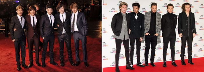 Pop Stars When They Appeared On Their First Red Carpets