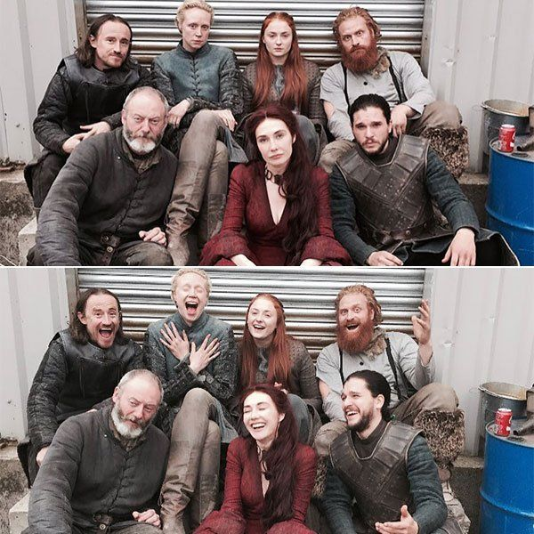 When Not Fighting Tor The Iron Throne, The Game of Thrones Cast Are Friends