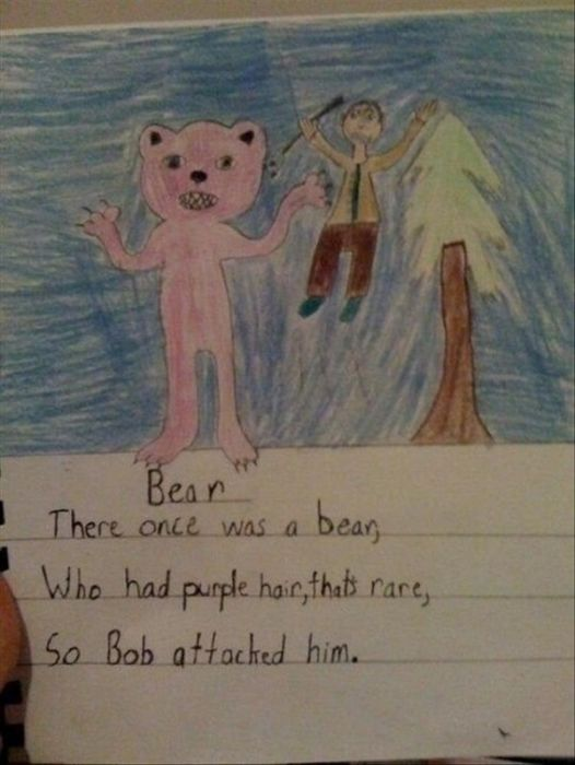 Funny And Horrifying Children's Drawings