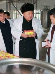 Kim Jong Un Teaches People How To Work