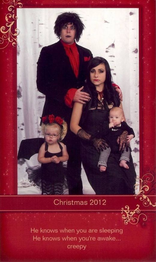 This Family Might Be Making The Best Christmas Cards