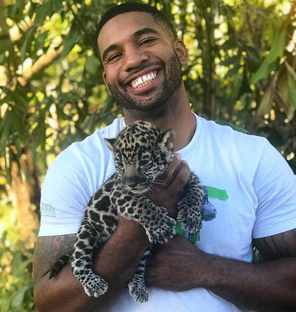 This Exotic Animal Specialist Is The Real-Life Tarzan