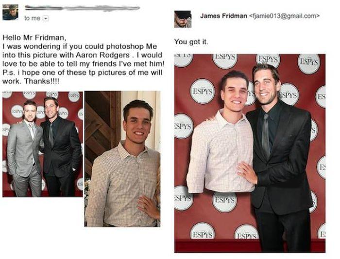 Don't Ask James Fridman To Photoshop Your Photos!