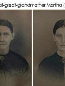 One Guy Has Recreated The Old Photos Of His Ancestors