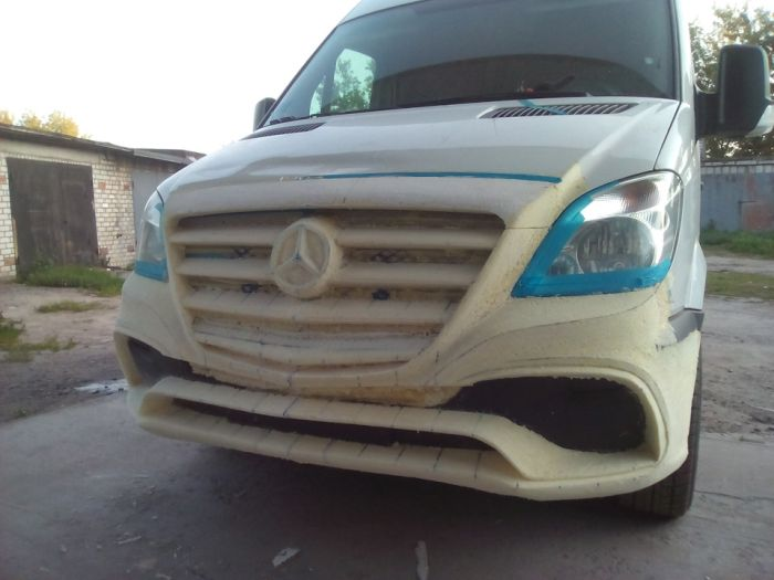 Mercedes-Benz Sprinter Tuning