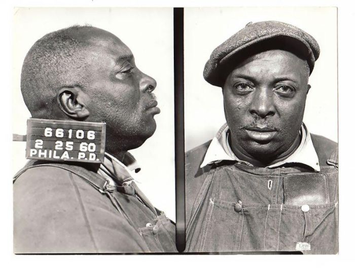 Colorful Pictures Of Criminals Detained In The 50-60 Years In Philadelphia