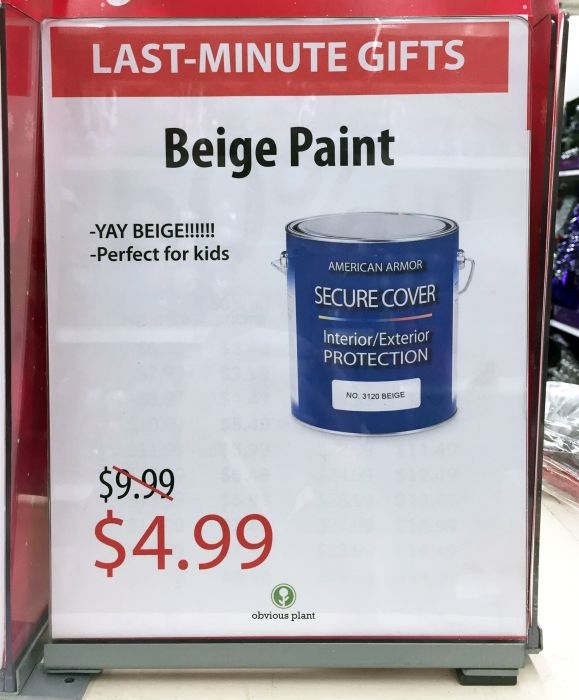 One Guy Added Some Last-Minute Christmas Gift Options to His Local Kmart