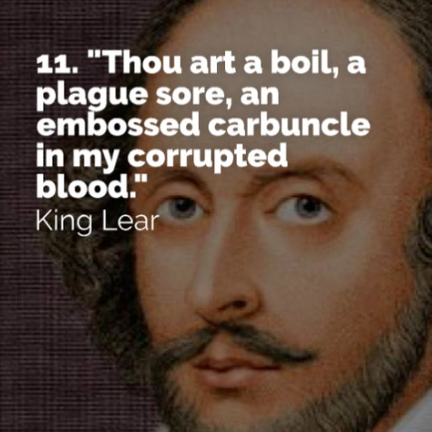Funny Insults from Shakespeare