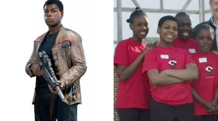 "Younger Version Of ""Star Wars"" Cast"