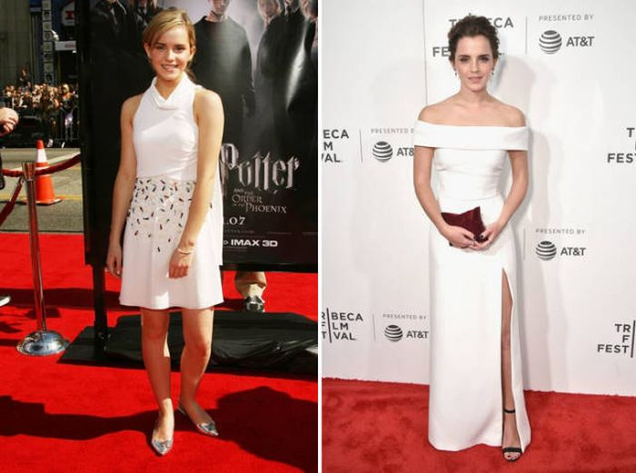Actors In 2007 And 2017, part 2017