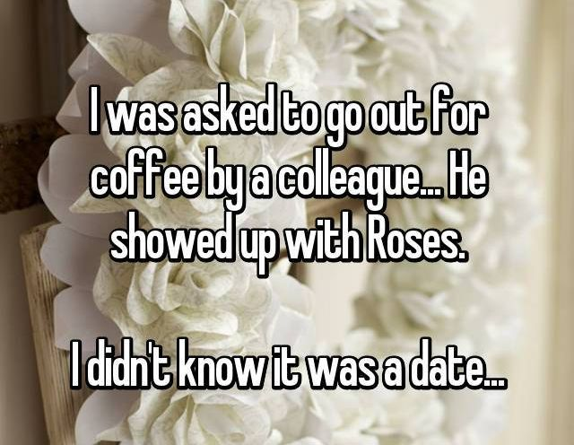 Confessions From People Who Didn't Realize They Were On A First Date