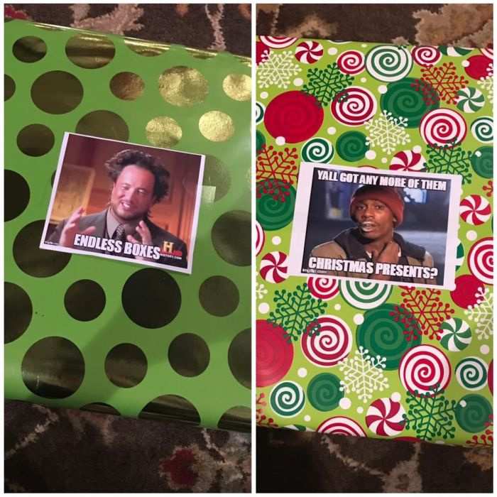 Fun With Gift Wrapping