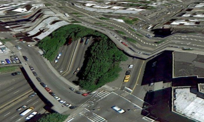Glitches in Google Maps