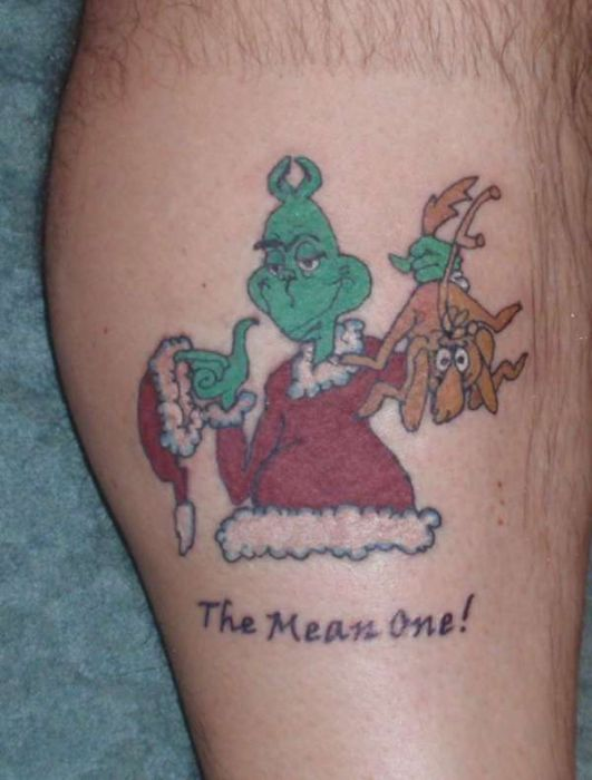 Good Christmas Tattoos