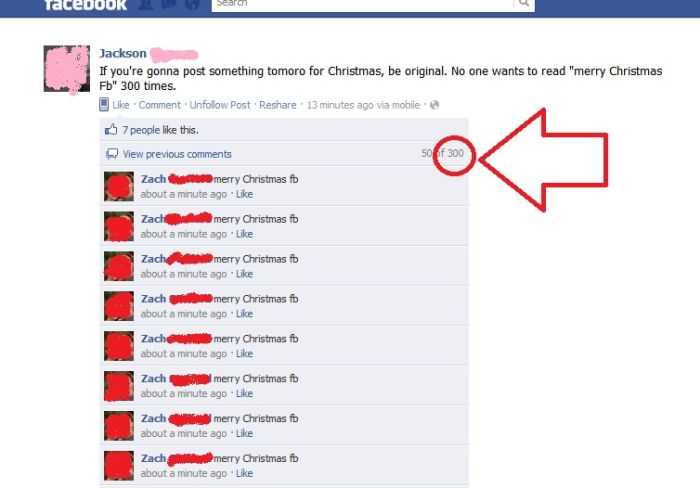 Funny Christmas Posts On Facebook