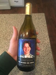 Parents Gave The Teachers Wine With A Funny Label