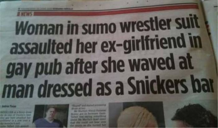 Crazy News Headlines