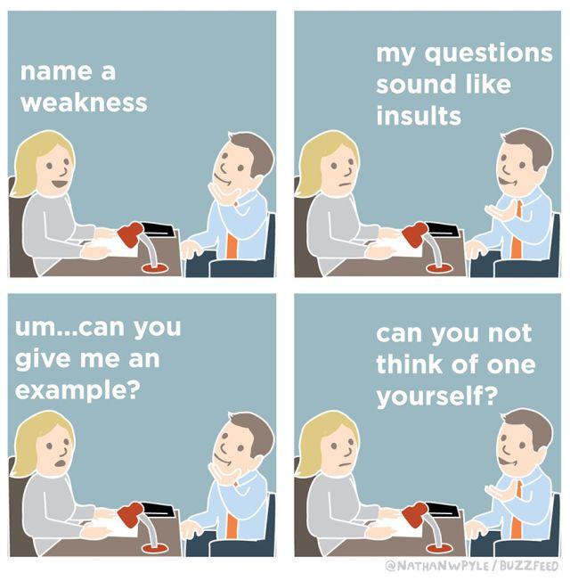Job Interview Comics