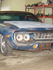 Plymouth Roadrunner Restored