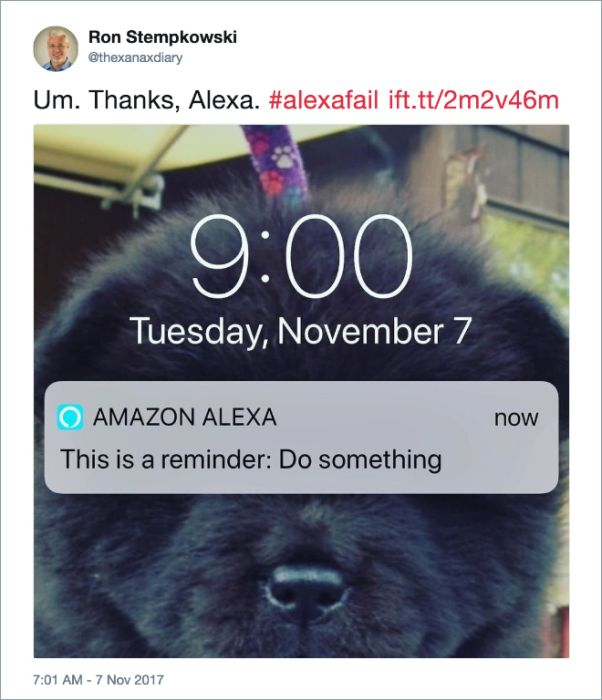 FunnyTweets About Amazon Alexa